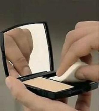 化妆视频教程之两用粉饼的使用