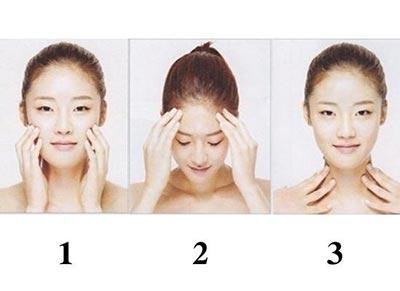 瘦脸操怎么做?按摩瘦脸的正确步骤分享